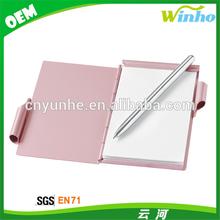 Winho aluminum Notepad and Pen Holder