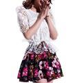 la mode des dames robe de broderie machine dessins