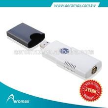 USB 2.0 Full HDTV 1080P MPEG4 FTA dvb-t2 dvb-c satellite tv tuner for laptop