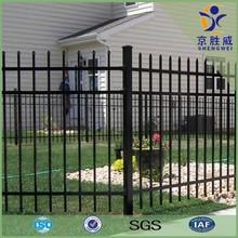 1.8m / 2.1m Hot dip galvanized powder coated metal modern gates design and fences
