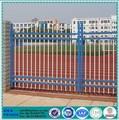 Forjado de hierro yard esgrima / forjado zona de juegos palisade fence