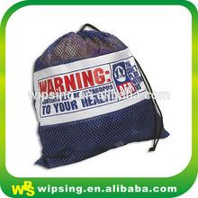 Custom mesh bag with logo printed for washing machine