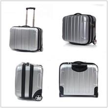 laptop briefcase 17'' abs pc waterproof trolley laptop briefcase