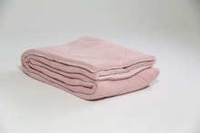 coral fleece reversible quilt polyester comfort sets baby duvet