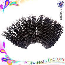 Lovely best feedback 100% unprocessed 6A grade deep wave virgin hair