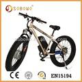 4'' bicicleta e sobowo s19 bicicleta eléctrica sin escobillas(2015)