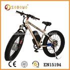 4'' e bike SOBOWO S19 brushless Electric Bike( 2015)