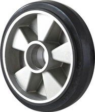 2015-h hot sale 180*50 Al rubber wheels for pallet truck china supplier
