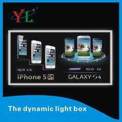 2015 New advertising item crystal dynamic led lighting frame