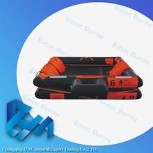 Life Saving Used Inflatable Life Raft For River Rafting
