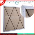 Nuevo de alta resistencia a la temperatura del panel del filtro de aire, panel de filtro, g4 del filtro de aire( fabricación)