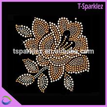 beautiful flower rhinestone transfer motif flowers rhinestones