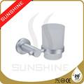 De aluminio de un solo vaso con anodizado SS-6111 cepillo de dientes taza taza