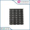 Energy saving high power high efficiency mono solar panel