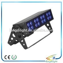 Strobe effect stage light show black light 16*3W LED UV light