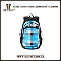 Boa qualidade mochila de nylon, saco de viagem, estudantes mochila