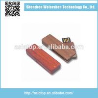 Latest Design wooden swivel mould usb flash drive 2014