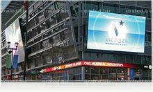 Affichage à led publicité 3d ski, skate formateur grande publicité d'affichage à led