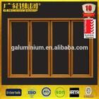 Hot selling aluminium used wood exterior doors