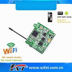 for iphone, ipad, android, HD 720p Wireless WiFi P2P 30fps digital recording MK802W mini wifi camera module