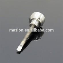 Titanium Carb Cap for Domeless Nail Ti-Nail 10mm gr2 Ti Nail