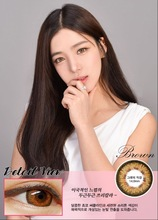 beautiful heartbeating sexy contact lens--brown blue grey