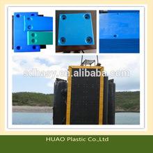 corrosion resistance uhmw-pe marine sliding plates
