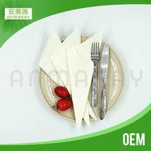 folding paper napkins for restaurant