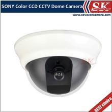 "SKVISION SK-DP1208B 1/3"" Sony CCD 3.6mm Lens 650TVL CCTV Dome Camera Case"