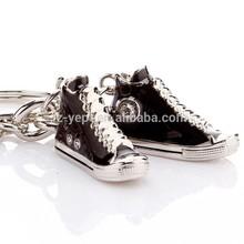 2015 canvas shoes custom wholesale souvenir keychain