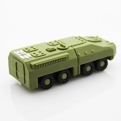 Low Cost Green Tank 512GB to 64GB Mini USB Flash Drives