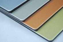 Alucoworld heat resistant painting on aluminium sheet