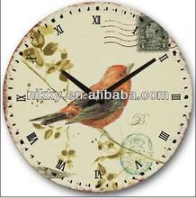 Moedern cuckoo bird wall clock