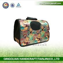 QQdesign fashion popular dog carry bag & brand dog bag