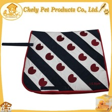 Cute Design Horse Racing Accessories Horse Blanket Horse Saddle Pad Saddle Pads