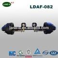 Reboques e caminhões peças fabricante venda iso americano eixo redondo beam11.5ton eixo do reboque