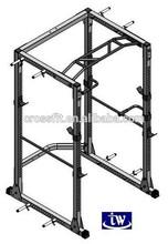 Crossfit power cage/Gym fitness multi training Power Rack