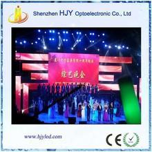P6 indoor led concert stage background screens