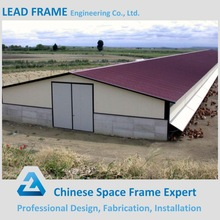 Metal roofing structure industrial chicken house