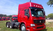 Sinotruck Howo Heavy Duty fuction 6x4 Truck tractor left and right hand driving optional