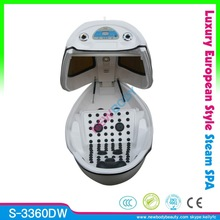 2015 Super Deluxe Digital Ozone Sauna SPA Capsule For Salon Photon Skin Beauty Spaceship Luxury SPA Capsule