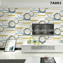 2015 decorative waterproof vinyl wallpaper