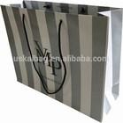 Wholesale paper shopping bag, shopping bag paper, paper shopping bag brand name