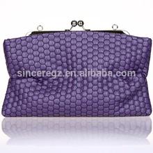 New arrival manufacturing handbag evening bag leather lady bag 14SH-3526M(P)
