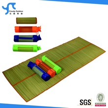 foldable flooring straw mat with carry bag
