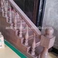 Natureza interior da escada de pedra, escada de granito passos