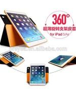 new product for apple ipad mini case , 360 rotating case cover leather for apple ipad mini