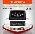 Hifimax citroen c3 car multimedia player com rádio do carro dvd sistema de navegação gps