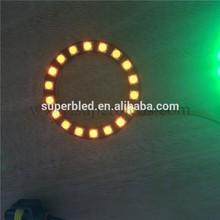 Super bright yellow led ring light 12V 5050 smd led ring lighting