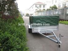 Hot dipped galvanized 6x4 cage trailer/box trailer/car trailer